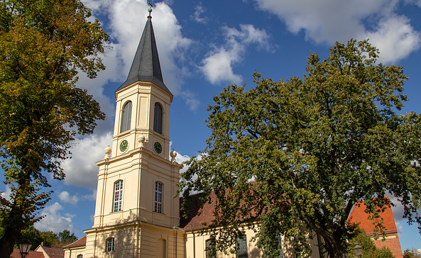 Dreifaltigkeitskirche Zossen, Foto: TMB-Fotoarchiv/ScottyScout
