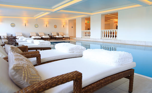 SPA-Bereich im Hotel-Resort Märkisches Meer, Foto: MeineZeit Mgt. AG, Victoria Haak