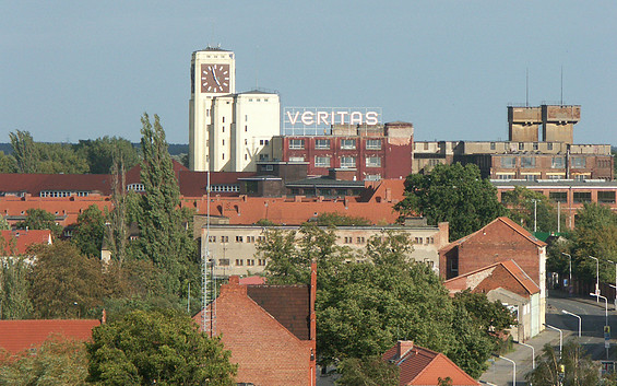 SINGER-Uhrenturm Wittenberge