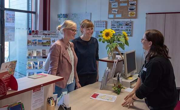 Touristinformation Wittstock/Dosse, Foto: TMB-Fotoarchiv/Steffen Lehmann