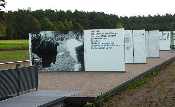Gedenkstätte Todesmarsch im Belower Wald, Foto: Stefan Erhard