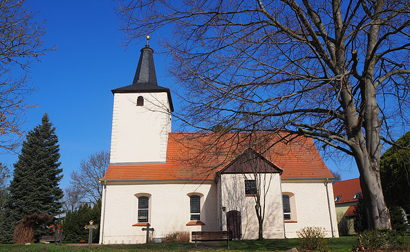 Dorfkirche Diedersdorf, Foto: Tourismusverband Fläming e.V.