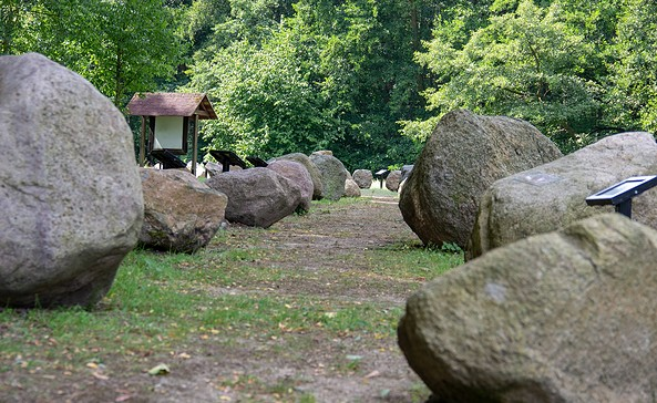 Blick auf den Geologischer Garten, Stolzenhagen, Foto: ScottyScout