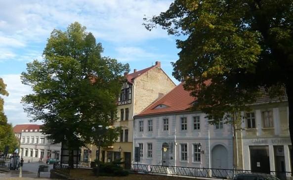 E-Bike-Ladestation in der Tourist-Information Bad Freienwalde
