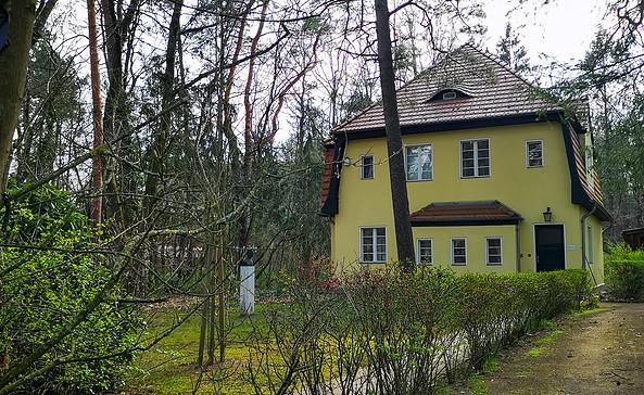 Das Peter-Huchel Haus in Wilhelmshorst, Foto: Tourismusverband Fläming e.V.