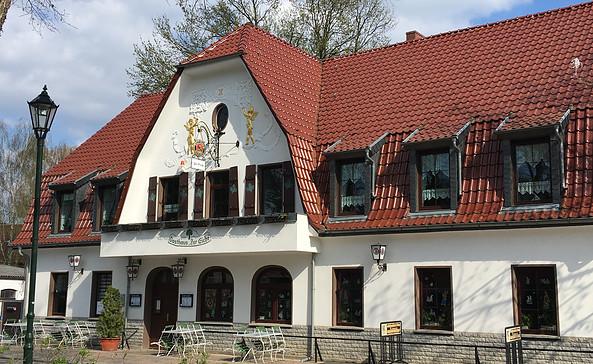 """Gasthaus """"Zur Eiche"""", Foto: Tourismusverband Fläming e.V."""