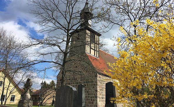 Dorfkirche Glasow, Foto: Tourismusverband Fläming e.V.