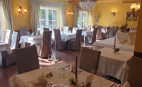 """Das Restaurant im """"Hotel am Wald"""", Foto: Hotel am Wald"""