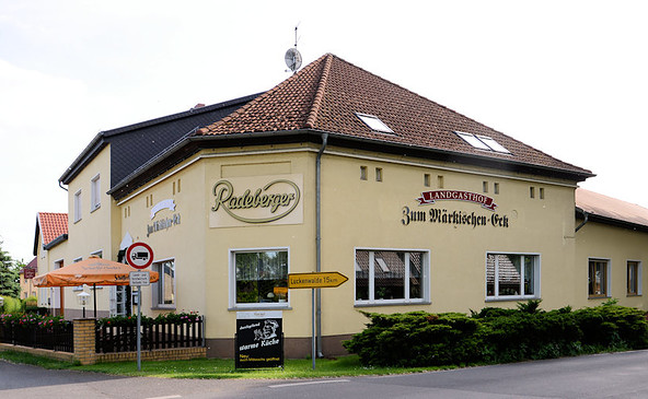 """Landgasthof """"Zum Märkischen Eck"""", Foto: I. Jahnel-Werner/K. Wittan"""