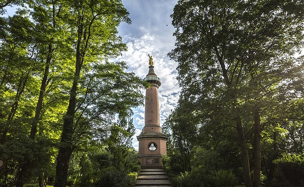 Siegessäule Hakenberg, Foto: TMB-Fotoarchiv/Steffen Lehmann