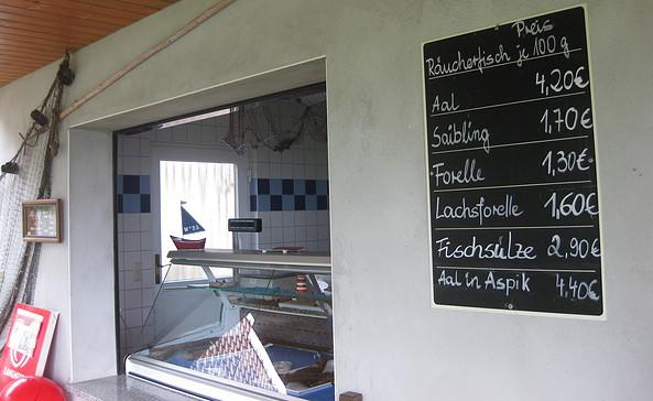 Fischverkauf Seenfischerei Trellert, Foto: Anet Hoppe