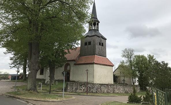 Kirche Mescherin, Foto: Anet Hoppe