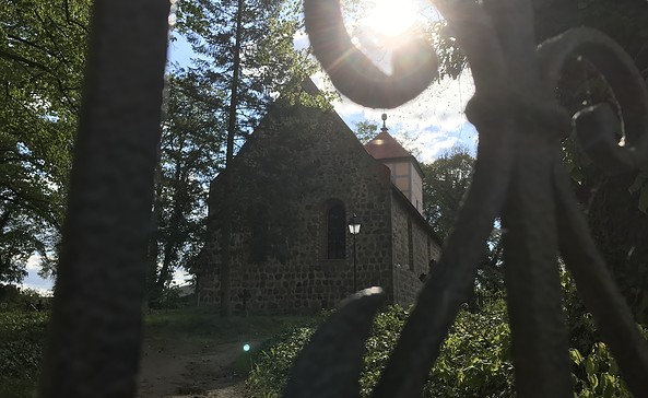 Kirche Berkholz, Foto: Anet Hoppe