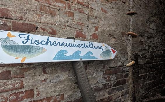 Fischereiausstellung in Plaue