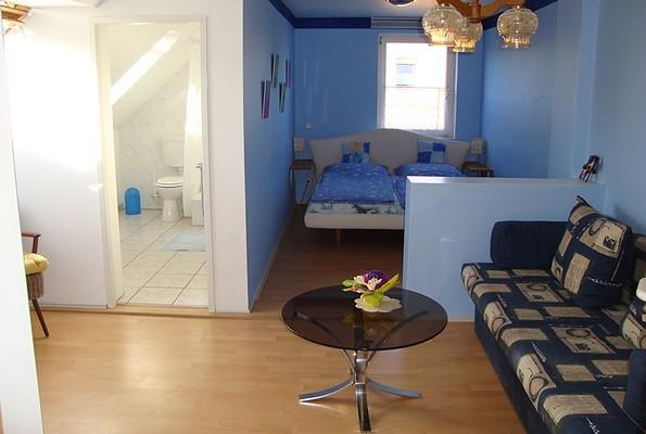 Reiterhof und Pension Fürstenhof - Das blaue Zimmer