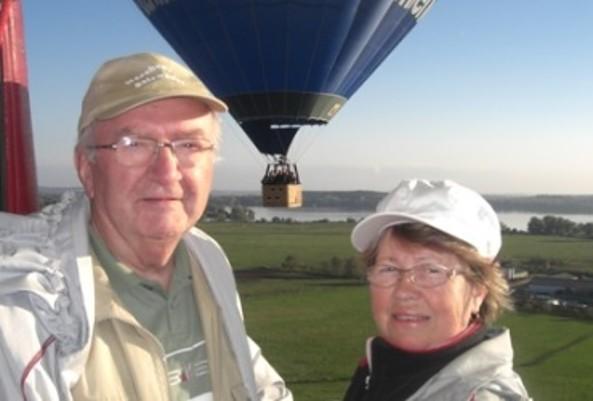 Im Heißluftballon © Sun-Ballooning GmbH