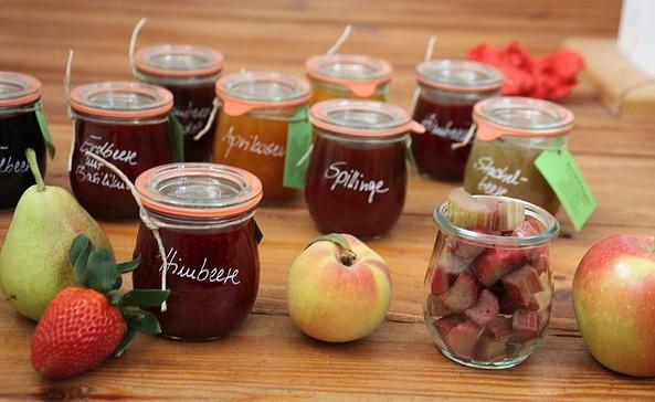 Marmelade, Foto: Rosenrot und Feengrün