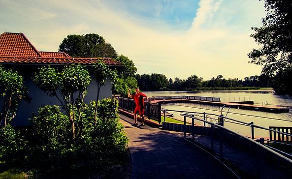 Flussbadeanstalt im Spreepark Beeskow, Foto: Florian Läufer