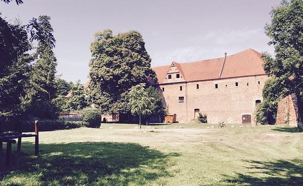 Wohnmobilstellplatz Burg Plattenburg