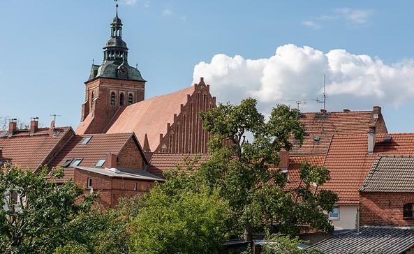 Wohnmobilstellplatz am historischen Altstadtkern