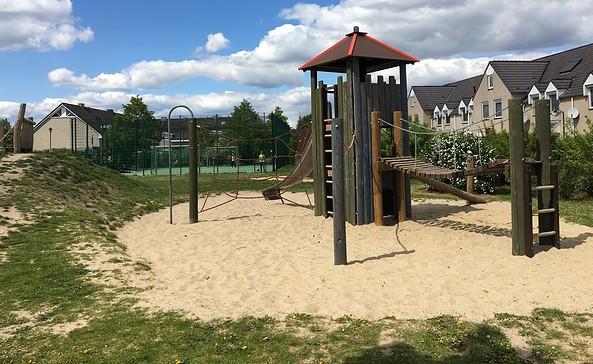 Spielplatz am Ahornring in Ragow, Foto: Tourismusverband Dahme-Seen e.V.