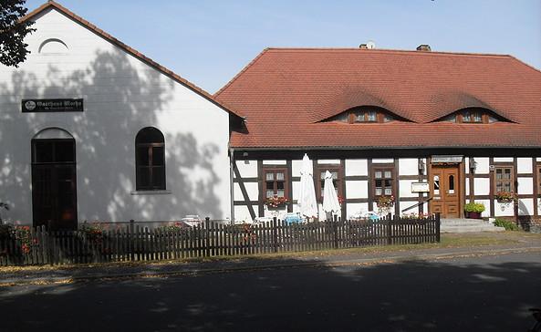 Ein Fachwerkhaus mit angeschlossenem Saal, Foto:TEG
