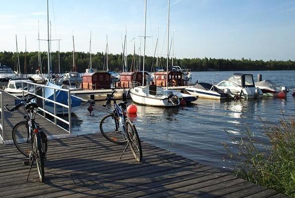 Steganlage im Hafencamp Senftenberger See, Foto: Dana Hüttner