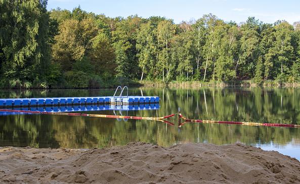 Badestelle Lohnteich Tschernitz, Foto: TMB-Fotoarchiv/ScottyScout