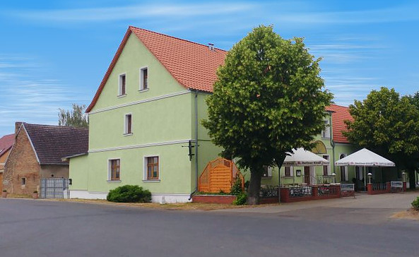 """Märkischer Gasthof """"Zur grünen Linde"""" in Ruhlsdorf, Foto: Haase Webdesign"""