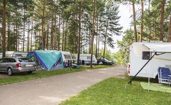 Camping am See, Foto: Zweckverband Lausitzer Seenland Brandenburg, Harry Müller