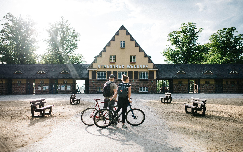 Radtour wannsee