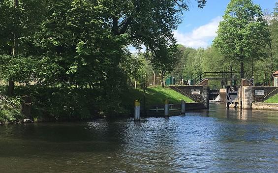Huckleberrys Tour - Floßstation Finowtal