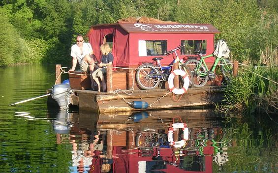 Huckleberrys Tour - Floßstation Zehdenick