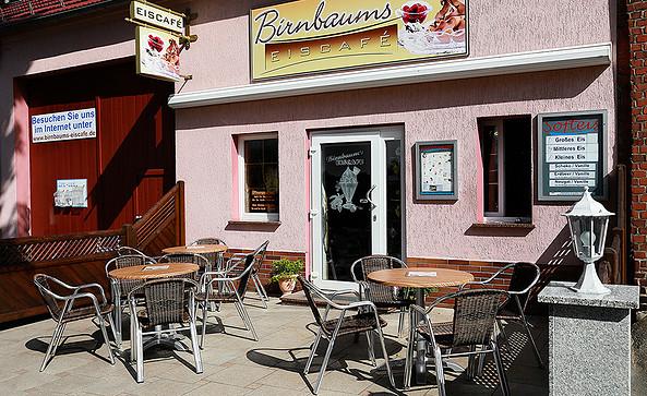 Birnbaum's Eiscafé in Hohenseefeld, Foto: Birnbaum's Eiscafé