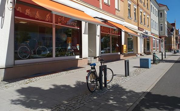 Fahrradhaus Pötschke in Senftenberg, Foto: Tourismusverband Lausitzer Seenland e. V.