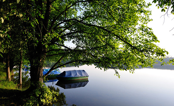 Campingplatz am Dreetzsee Boote, Foto: Döhring