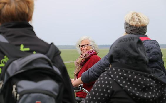 Natur- und Landschaftsführerin Gertrud Rohloff-Hecker