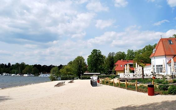 Scharmützelsee, Seebad Strand Bad Saarow