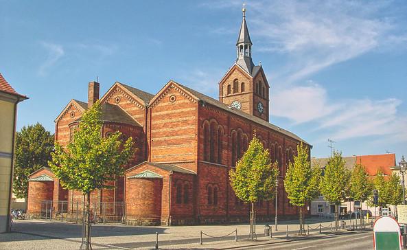 evangelische Kirche in Peitz, Foto: Amt Peitz