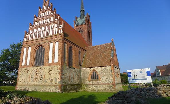 Wallfahrtskirche in Alt Krüssow, Foto: Archiv Tourismusverband Prignitz e.V./U. Dummer