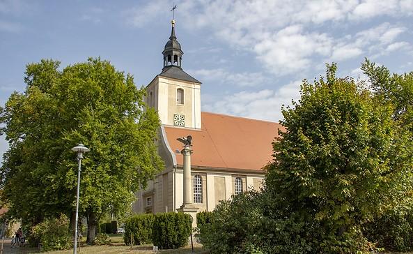 Evangelische Kirche, Burg (Spreewald), ScottyScout 1
