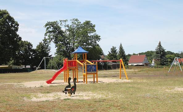 Spielplatz im Tannenweg Kolberg, Foto: Tourismusverband Dahme-Seen e.V. / Pauline Kaiser