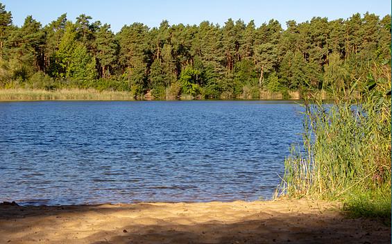 Naturbadestelle am Tonsee