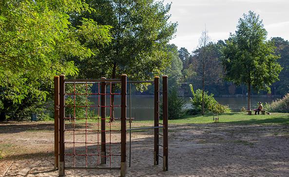 Spielplatz am Lankensee in Zernsdorf, Foto: ScottyScout