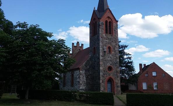 Feldsteinkirche Rambow Foto: Fotoarchiv Tourismusverband Prignitz e.V.