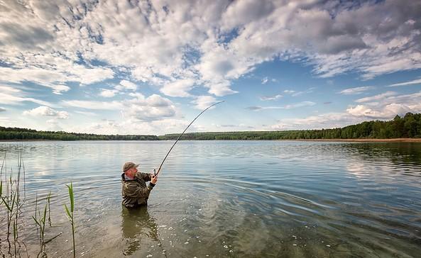 Katjasee, Angler, Foto: Florian Läufer