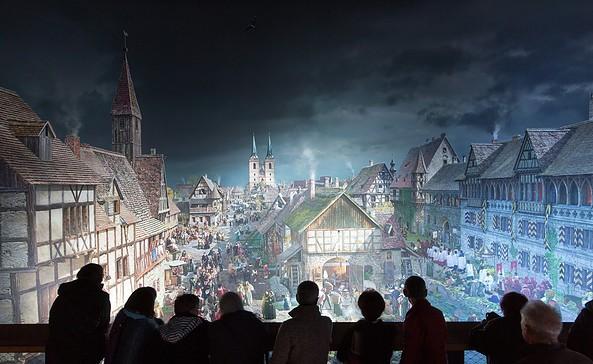 asisi Panorama Luther 1517 © asisi/Tom Schulze