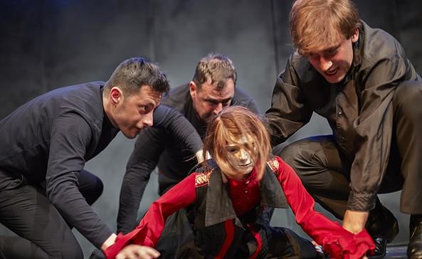 Hamlet, Foto: Theater des Lachens