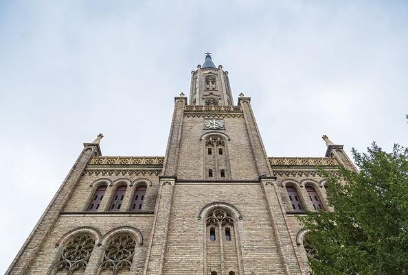 Stadtkirche Fürstenberg/Havel. Foto: TMB-Fotoarchiv/Steffen Lehmann