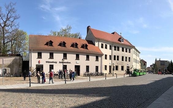Tourist-Information Lutherstadt Wittenberg am Schlossplatz